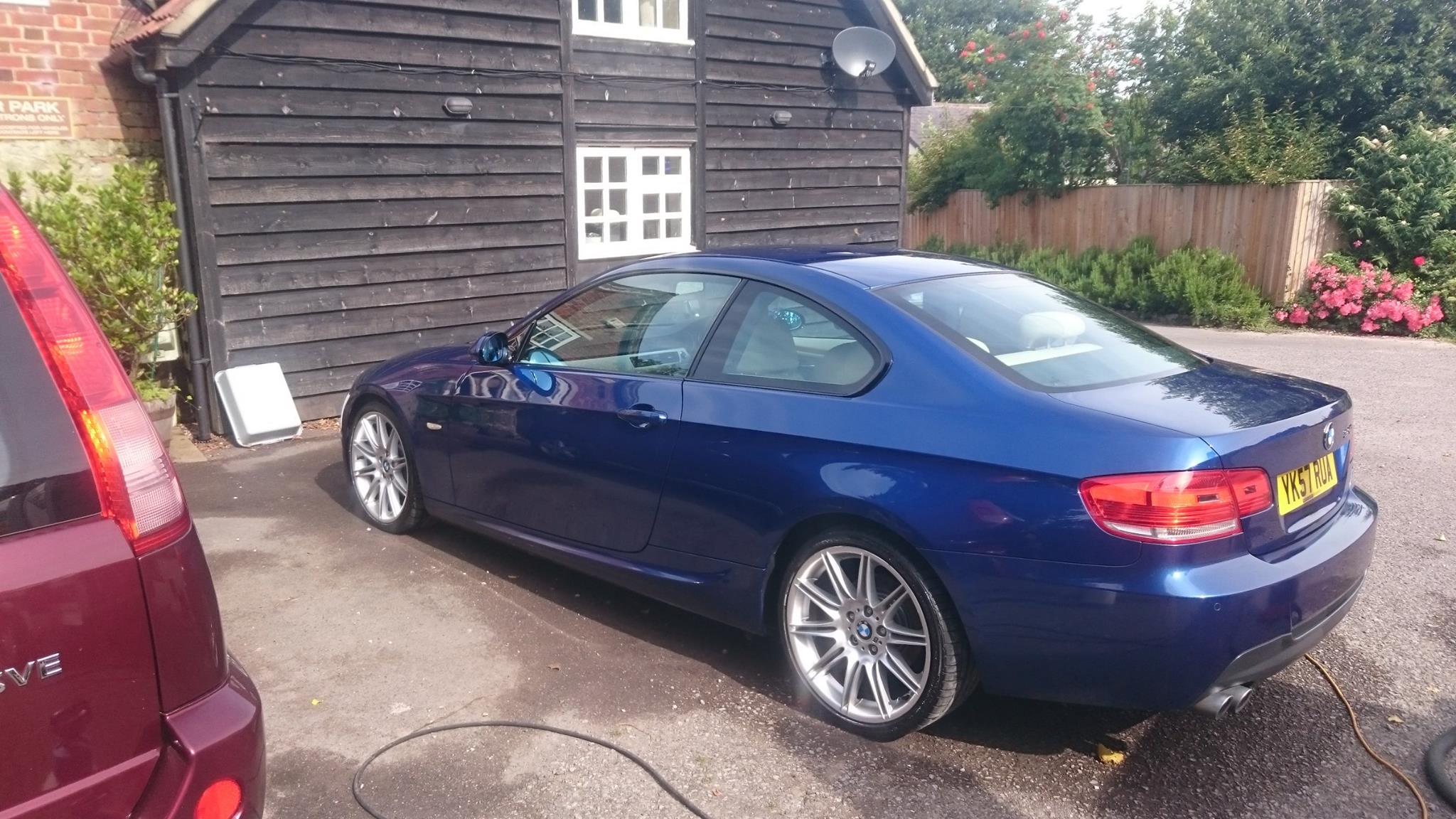 Cleaned car in Dorset