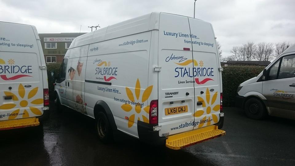 Stalbridge Linen vans cleaned in Shaftesbury