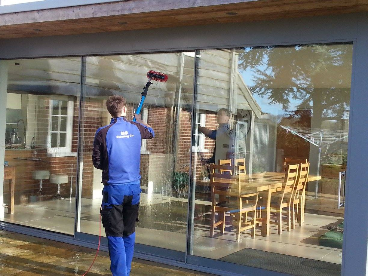 Patio door window cleaning company dorset